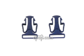 Product image for Lower Headgear Clips for Quattro™ FX and Mirage Liberty™ Full Face Mask (2 pack)