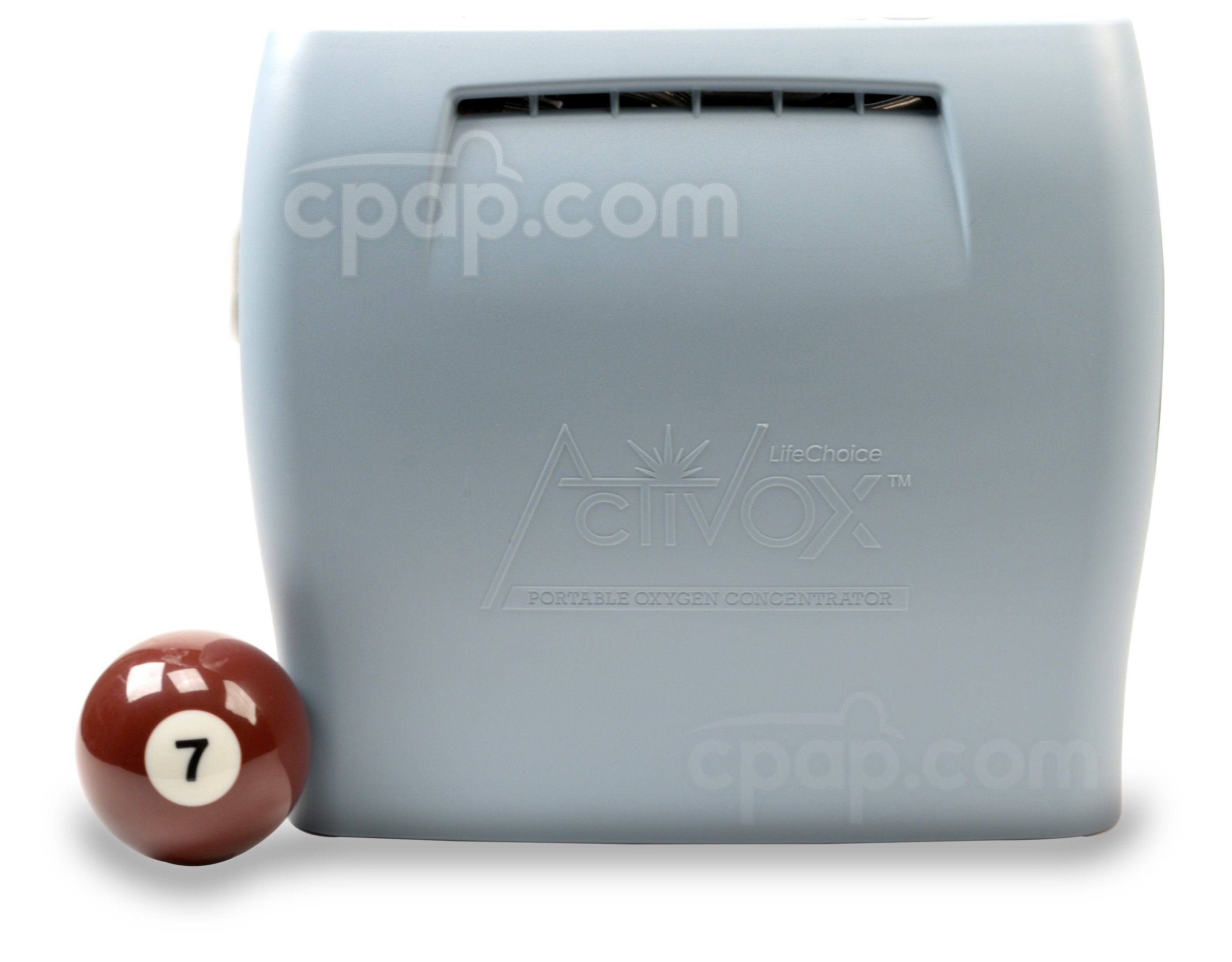 Activox™ Portable Oxygen Concentrator - Front (Billiards Ball Not Included)