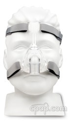 Mirage FX Nasal CPAP Mask Front-shown on mannequin