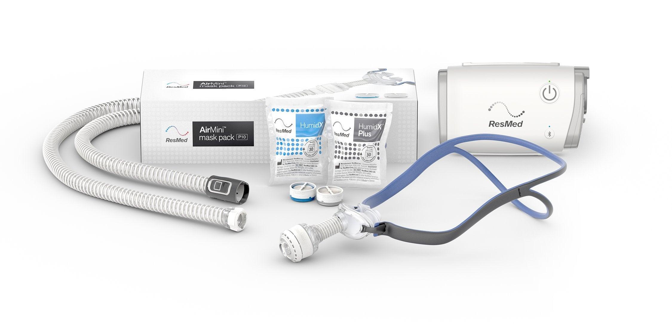 AirMini AutoSet CPAP Machine with Free AirFit P10 Mask