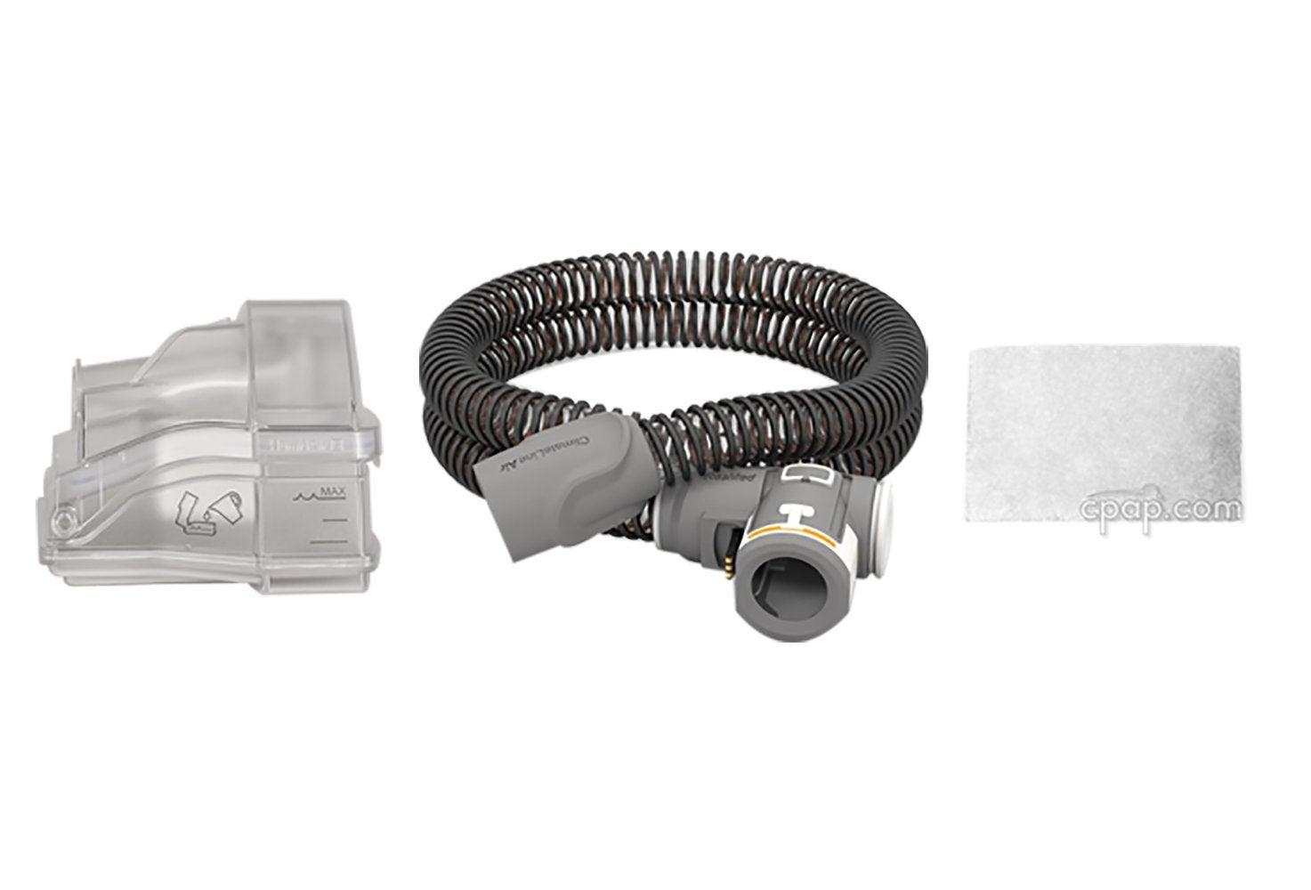 AirSense 10 Maintenance Bundle: Standard Water Chamber + ClimateLine Air + 6 Pack of Filters