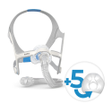 Product image for ResMed AirFit™ N20 Mask + 5 Replacement Cushions Bundle