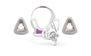 Product image for ResMed AirTouch™ F20 Mask For Her with Headgear + 2 Replacement Cushions
