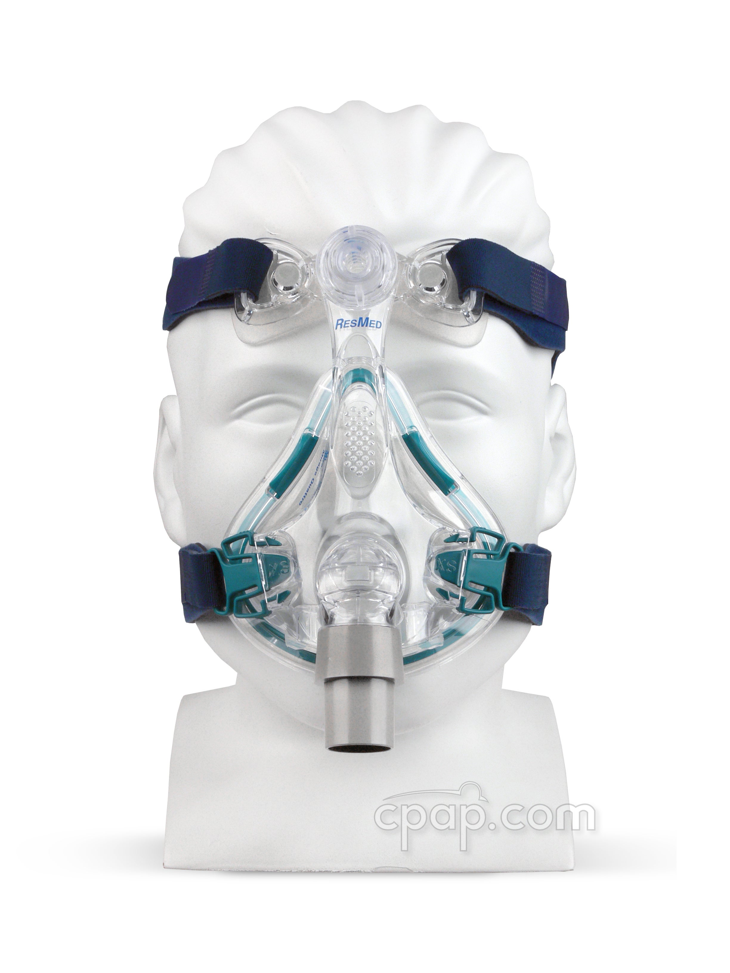 Quattro Full Face - Front - Shown on Mannequin (Not Included)