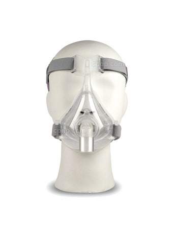 Quattro Air For Her Full Face Mask with Headgear - Front- Shown on Mannequin (Not Included)