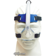 Product image for IQ Blue Nasal CPAP Mask with StableFit Headgear