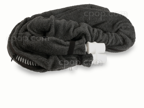 Zippered SnuggleHose - Slight Zipper Opening- Shown with Hose - Not Included