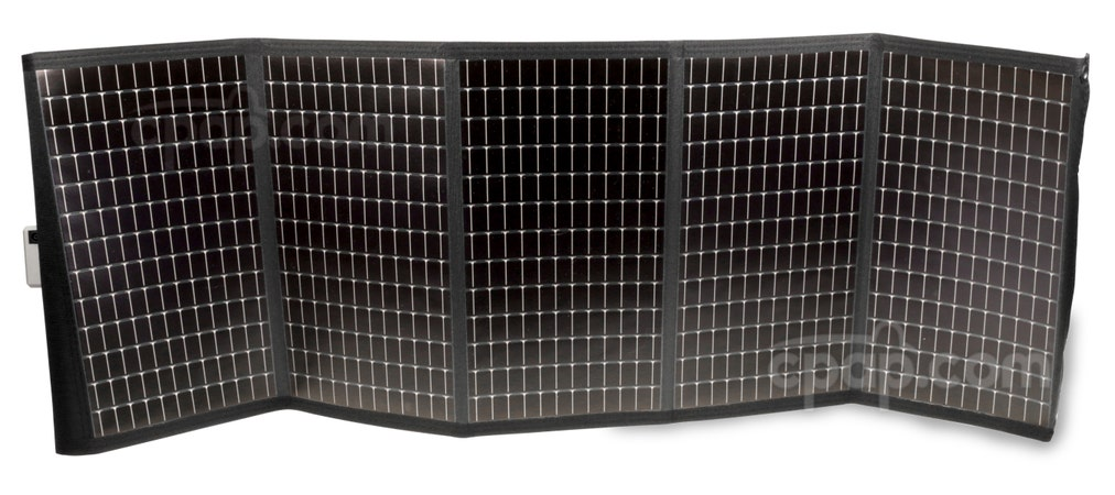 Solar Charger for Transcend Batteries - Unfolded